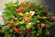 świąteczny wianek